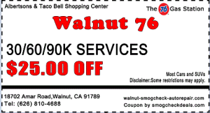 $25 OFF 30/60/90 Auto Services