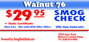 Smog Coupon Walnut